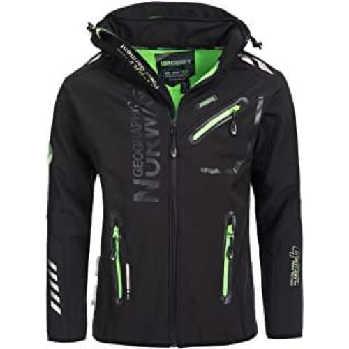 geographical norway softshell rainman noir
