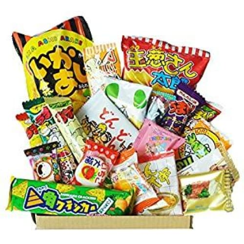 happy dagashi box 20pcs ver 2 assortiment de bonbons japonais umaibo
