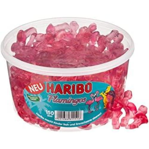 haribo flamants roses bonbons gelifies fruites 150