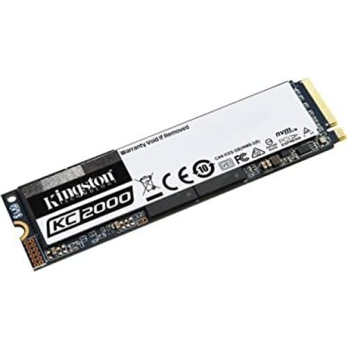 kingston kc2000 skc2000m81000g m 2 2280 nvme ssd 1000g