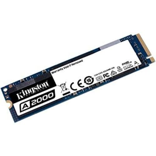 kingston sa2000m8250g a2000 ssd nvme pcie m 2 2280250gb