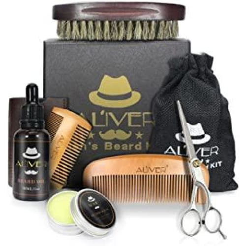 kit de soin barbe avec lhuile cire moustache au be