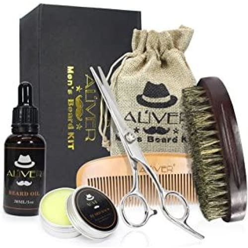 kit de toilettage barbe baume naturel huile pi