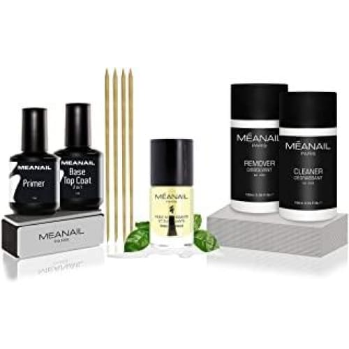 kit manucure soin des ongles essentiels semi permanent new huile