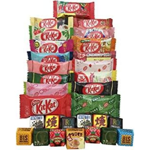 kitkat assortiment de chocolat japonais 30 pz kit kat tirol differen