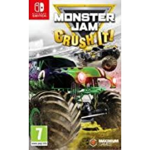 monster jam crush it pour nintendo switch