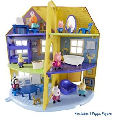 peppa pig famille maison
