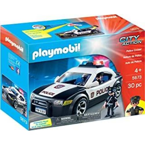 playmobil 5673 voiture de police us