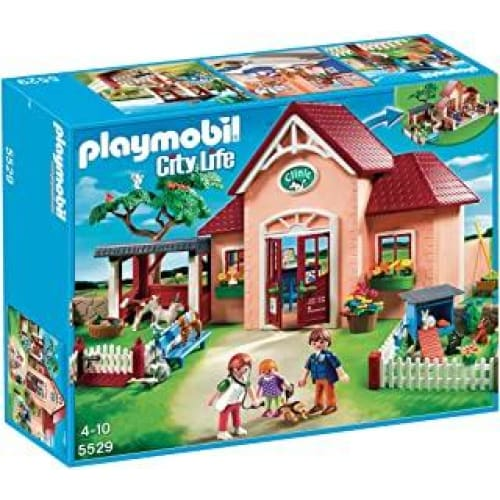 playmobil a1502713 jeu de construction clinique veterinaire