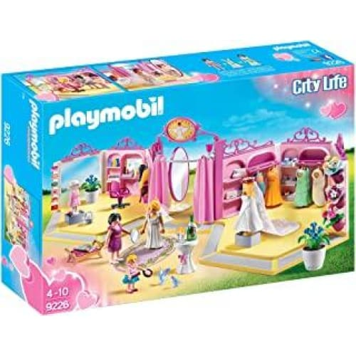 playmobil boutique robes de mariee 9226