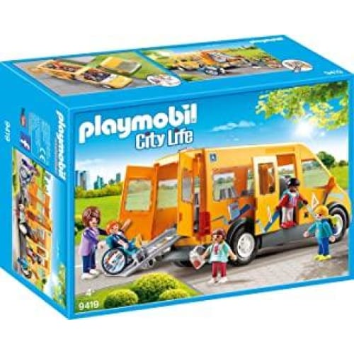 playmobil bus scolaire 9419