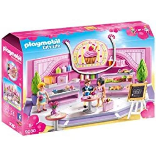 playmobil cafe cupcake 9080