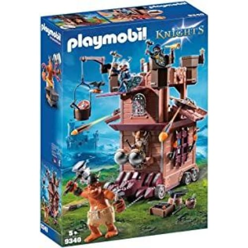 playmobil tour dattaque mobile des nains 9340