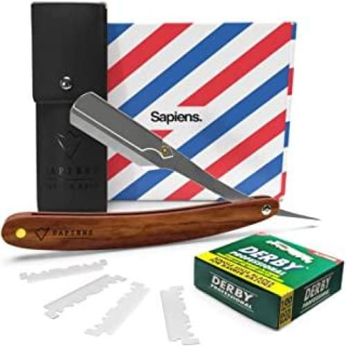 rasoir a barbe traditionnel par sapiens 1 an de rasage coupe choux