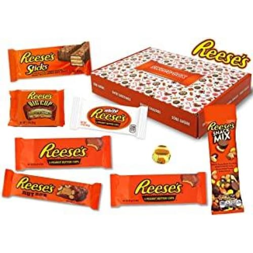 reeses sweet box panier cadeau 8 bonbons americains differents