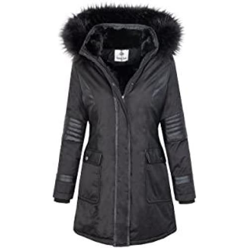 rock creek veste femme parka manteau dames dhiver d 369