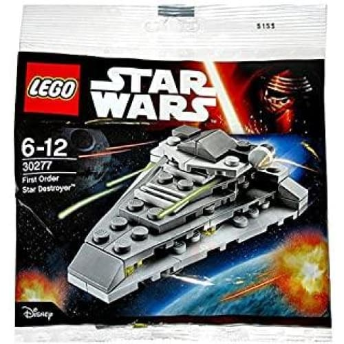 star wars first order destroyer polybag 30277 by lego