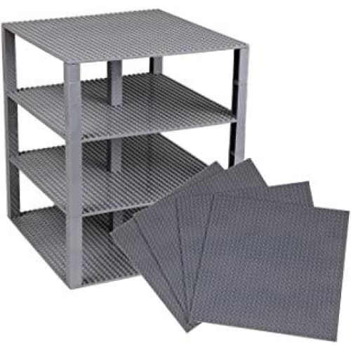 strictly briks lot de 4 plaques base avec stackers 2x2 aa 273
