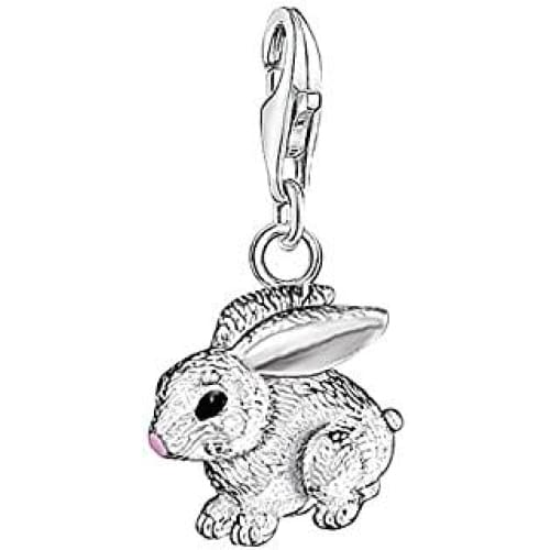 thomas sabo femmes pendentif charm lapin club argent sterling 92