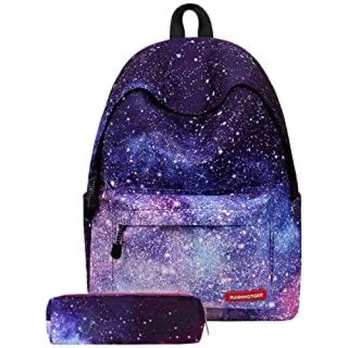 tobaling fille sac a dos galaxy college scolaire loisir voyage imper