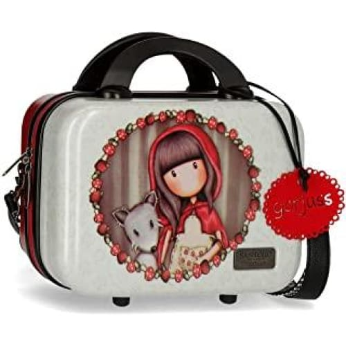 trousse de toilette abs gorjuss adaptable a trolley little red ridin