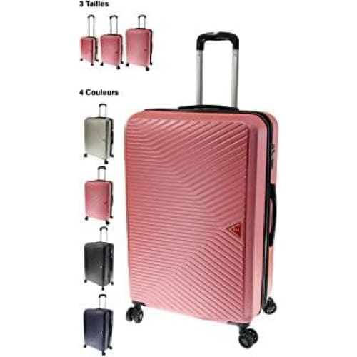 valise rigide vida vr620 rapport qualiteprix top corail pink l so