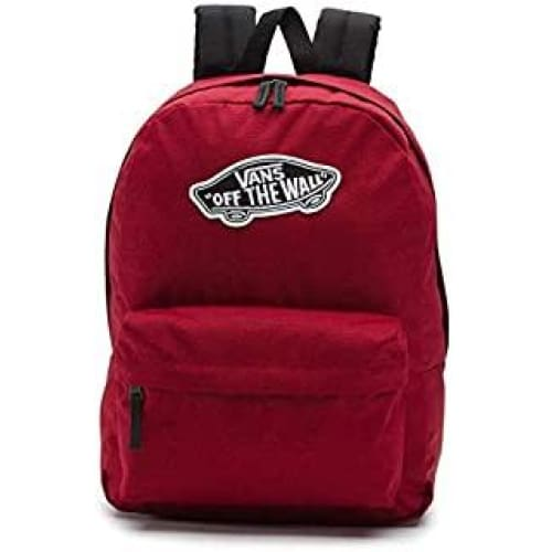 vans realm backpack sac a dos loisir 42 centimeters 22 rouge biking