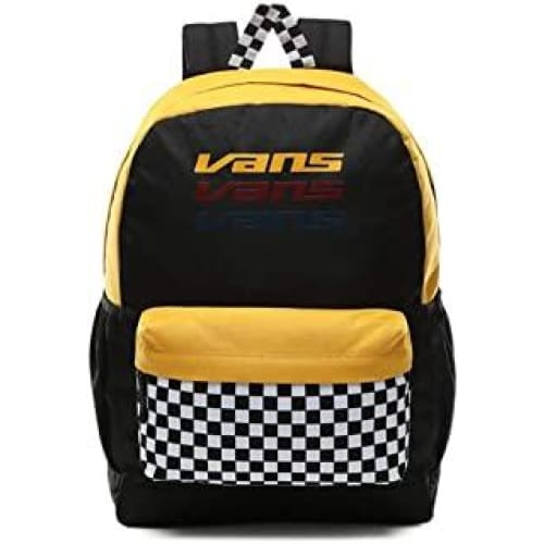 vans sporty realm plus backpack blacktrifecta vn0a3pbitvg