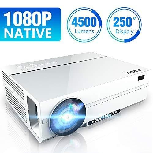 videoprojecteur 4500 lumen native 1080p 1920 x 1080 projecteur led f