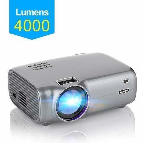 videoprojecteur wimius 4000 lumens video projecteur portable full hd