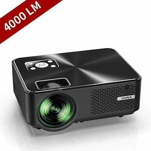 videoprojecteur yaber mini projecteur portable 4000 lumens resolutio