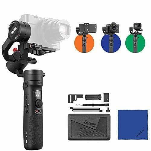 zhiyun crane m2 3 axes de poche gimbal stabilisateur differents mode