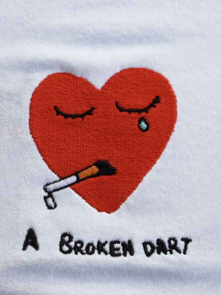 A Broken Dart - White