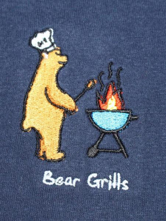 Bear Grills Crewneck - Navy