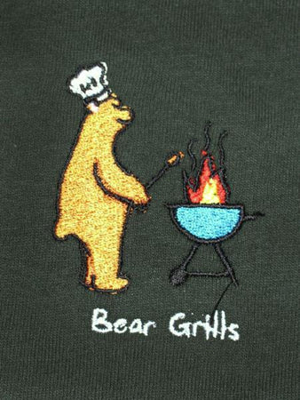 Bear Grills - Forest Green