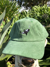Load image into Gallery viewer, Chiller Whale Corduroy Cap - Forest
