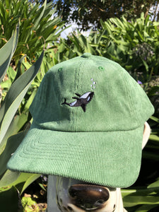 Chiller Whale Corduroy Cap - Forest