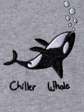 Load image into Gallery viewer, Chiller Whale Crewneck - Grey