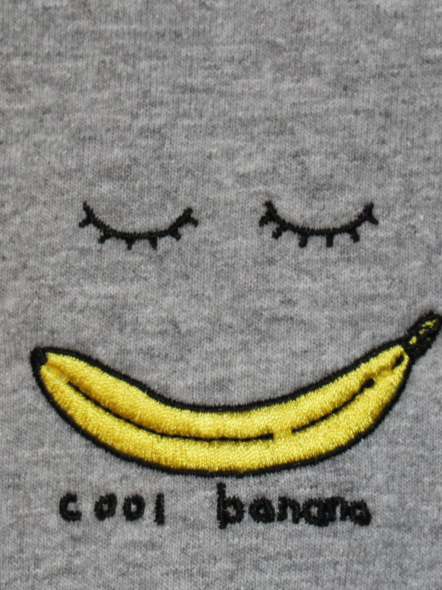 Cool Banana - Grey LS