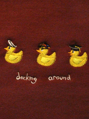 Ducking Around Crew - Maroon