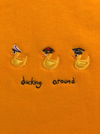 Ducking Around Hood - Gold