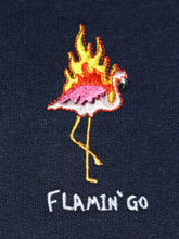 Load image into Gallery viewer, Flamin' Go - Navy Hood