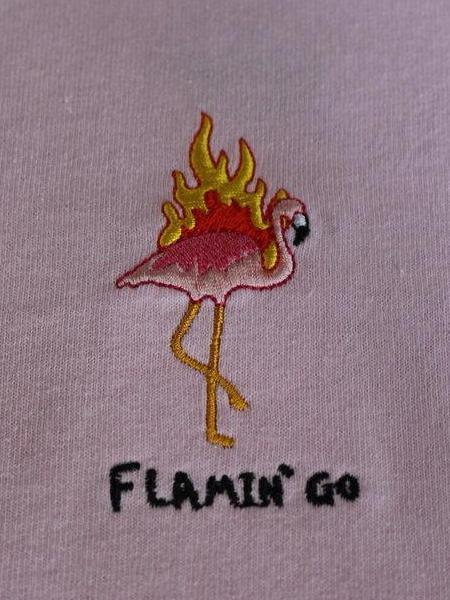 Flamin' Go SS - Pastel Pink