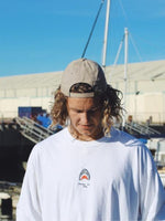 Friendly Shark LS - White