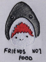 Friends Not Food SS - White