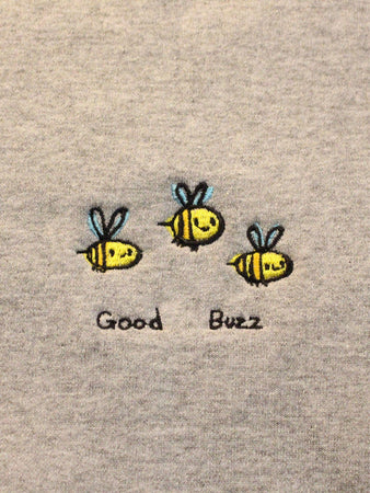 Good Buzz Crewneck - Grey