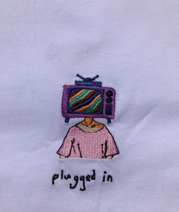 Plugged In - Pastel Pink