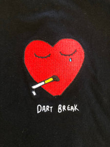 A Broken Dart - Black