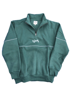 Quarter Zip Sweater - Green