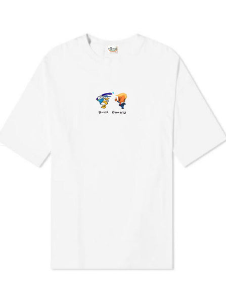 Organic Hemp Duck Donald - White (Presale)
